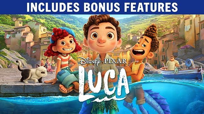 Luca + Bonus Features