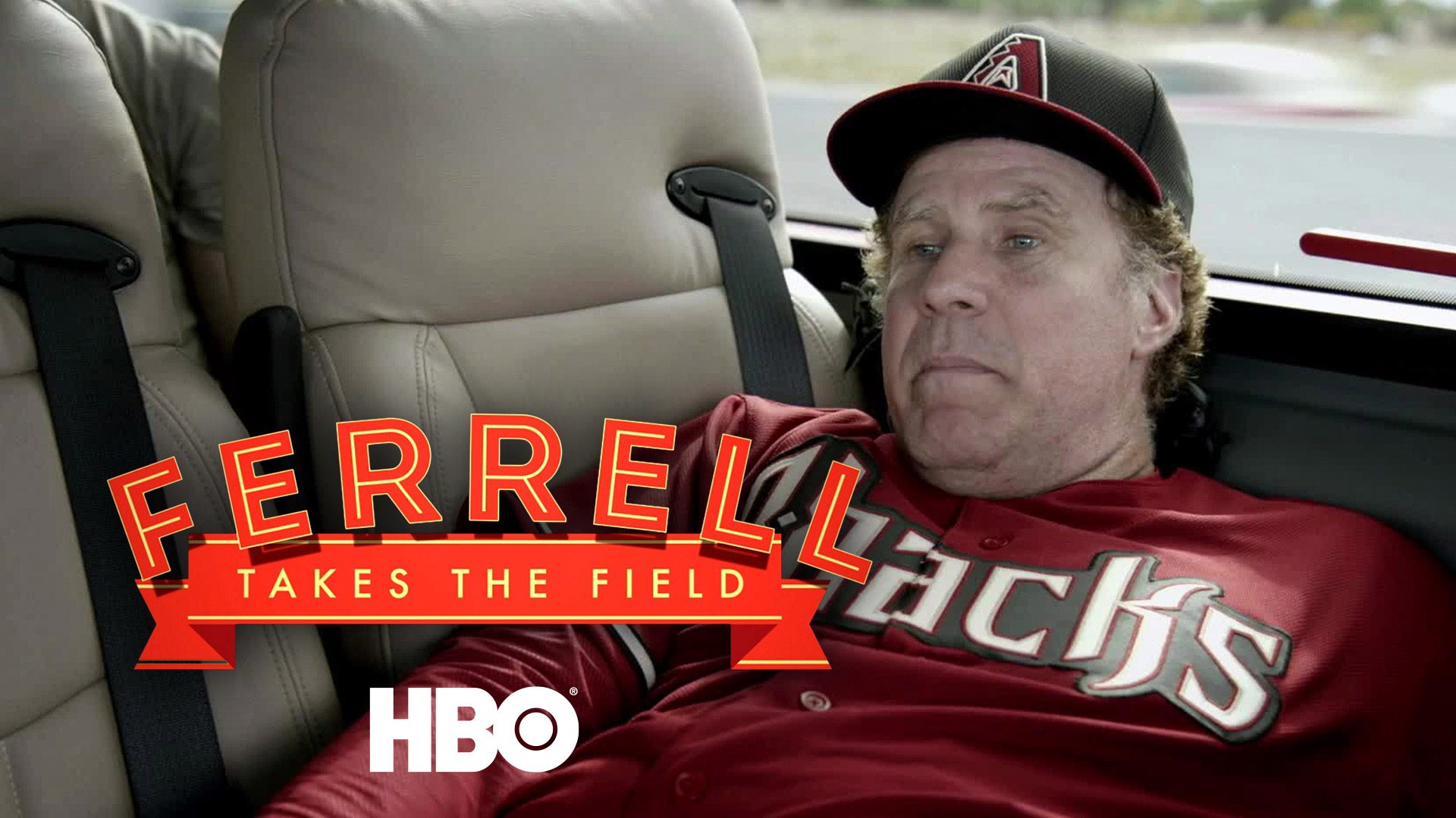 Ferrell Takes the Field