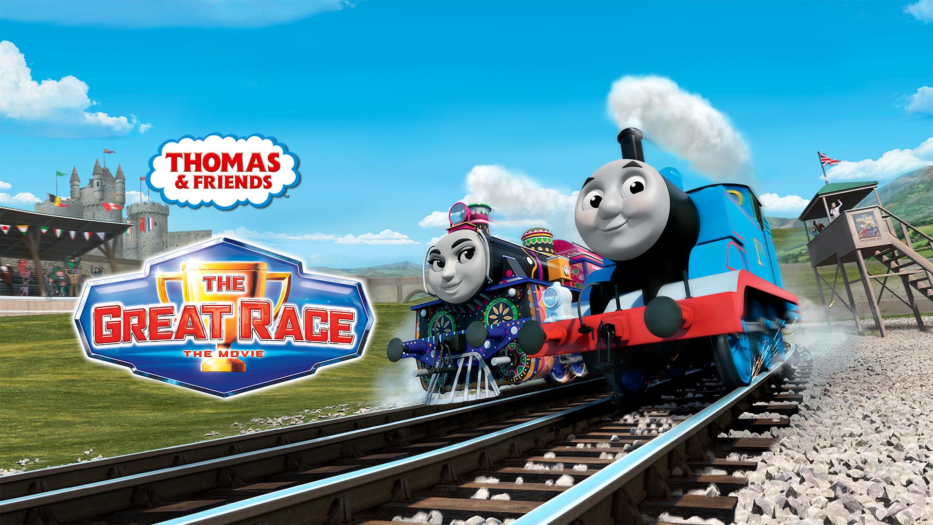 Thomas & Friends: The Great Race (US English, Brazilian Portuguese, Latin America Spanish)