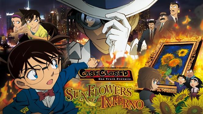 Case Closed: Sunflowers of Inferno (English Dub)