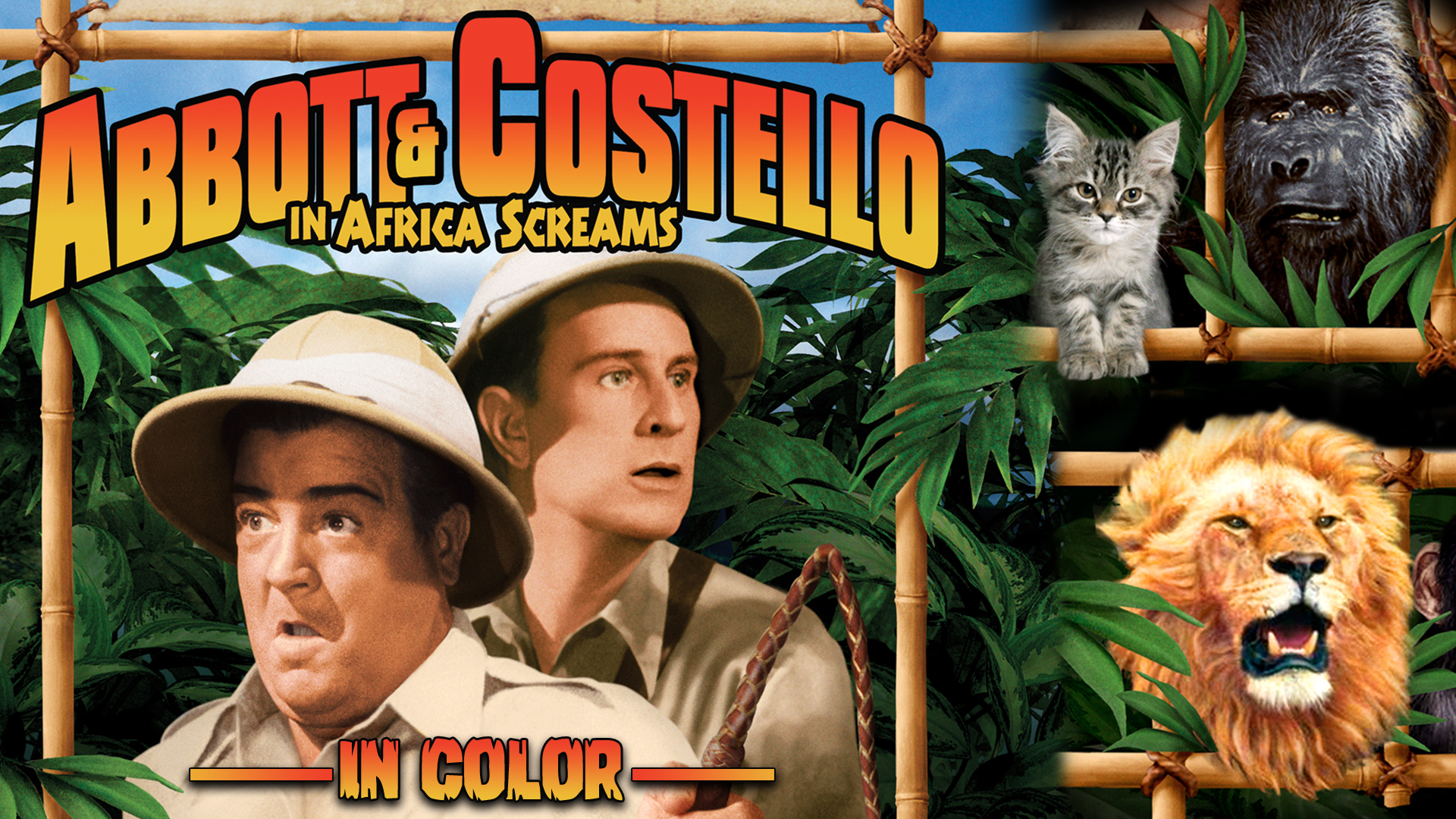 Abbott & Costello in Africa Screams (In Color)