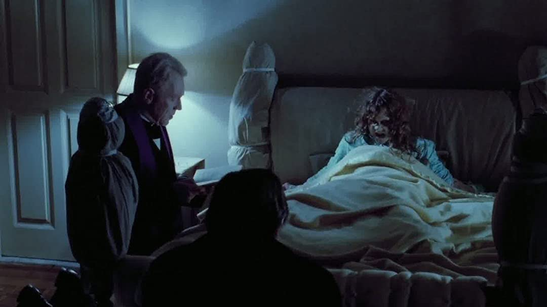 The 10 movies also include the visceral horror of 1973's Exorcist is only justified in theaters.