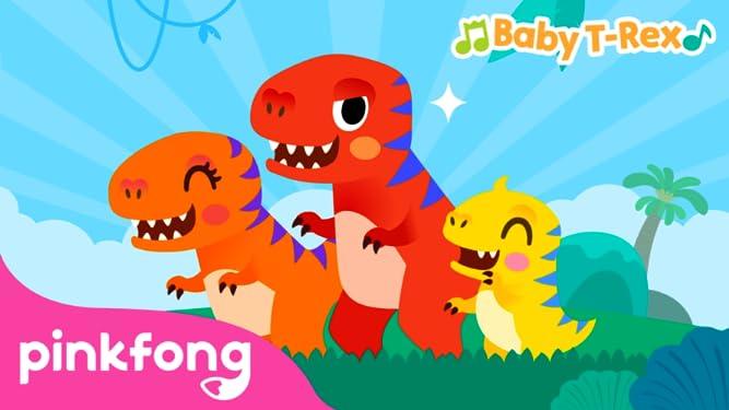 Pinkfong! Baby T-Rex