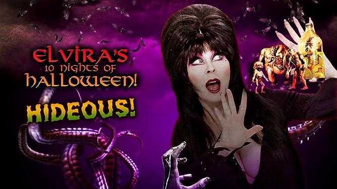 Elvira's 10 Nights of Halloween: Hideous! - Plus Couch Confessional Bonus Feature