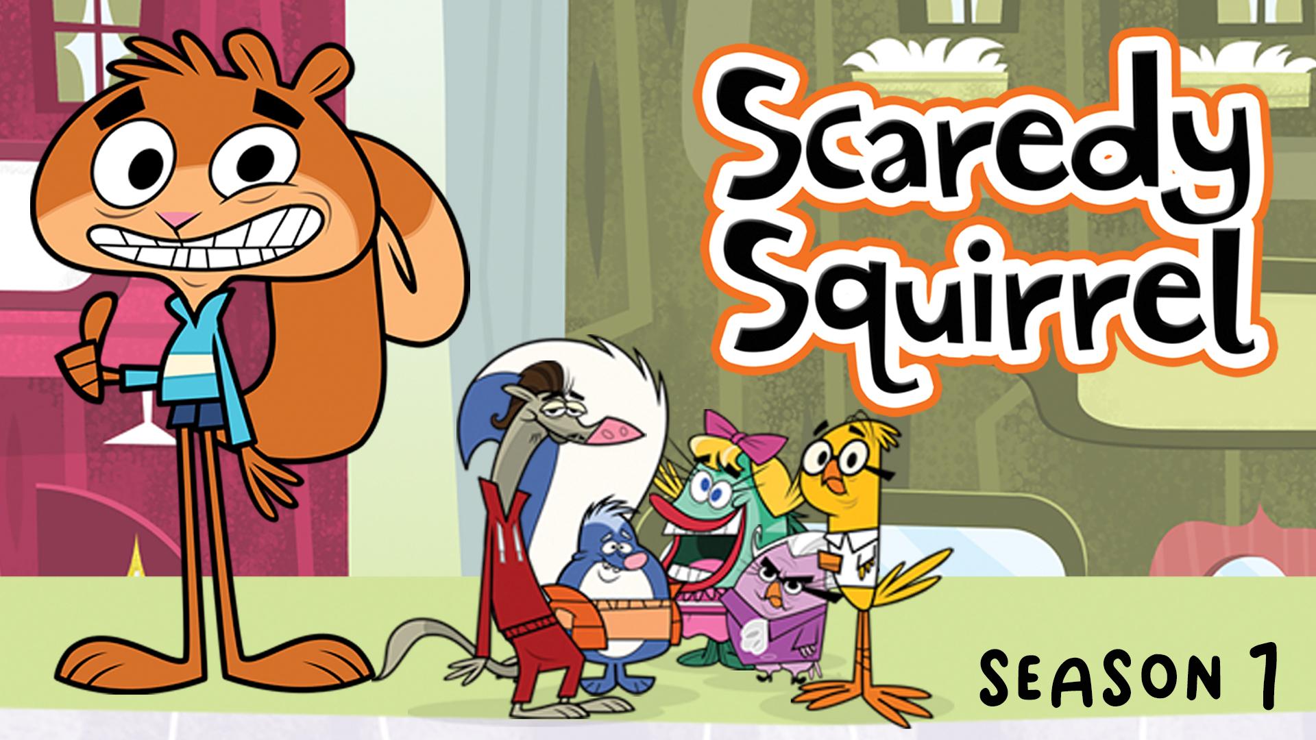 Scaredy Squirrel - Season 1