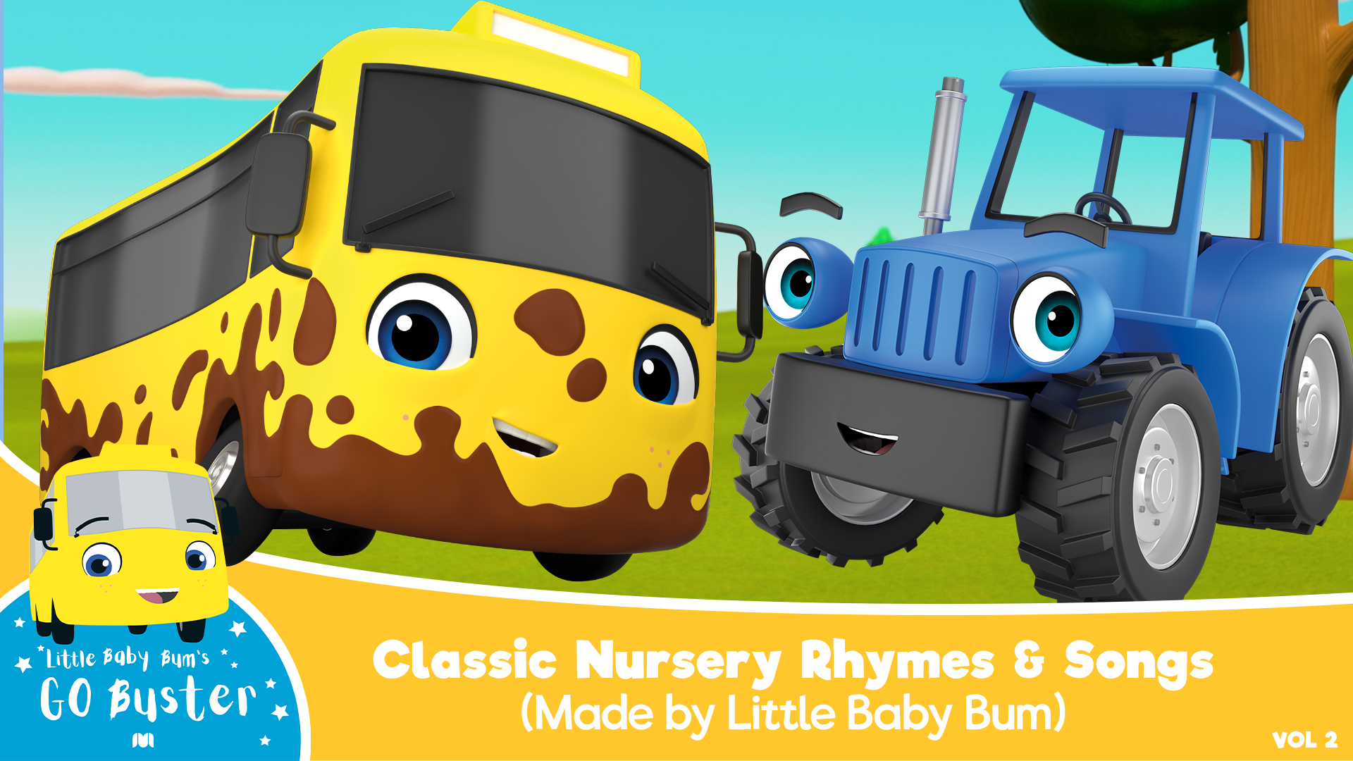 Go Buster - Classic Nursery Rhymes & Songs (Made by Little Baby Bum) - Season 2