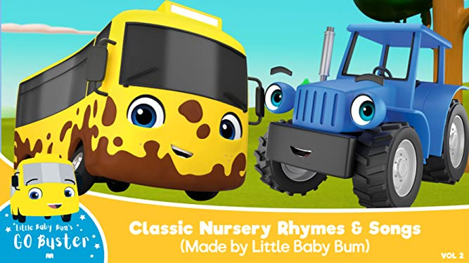 Go Buster - Classic Nursery Rhymes & Songs (Made by Little Baby Bum)