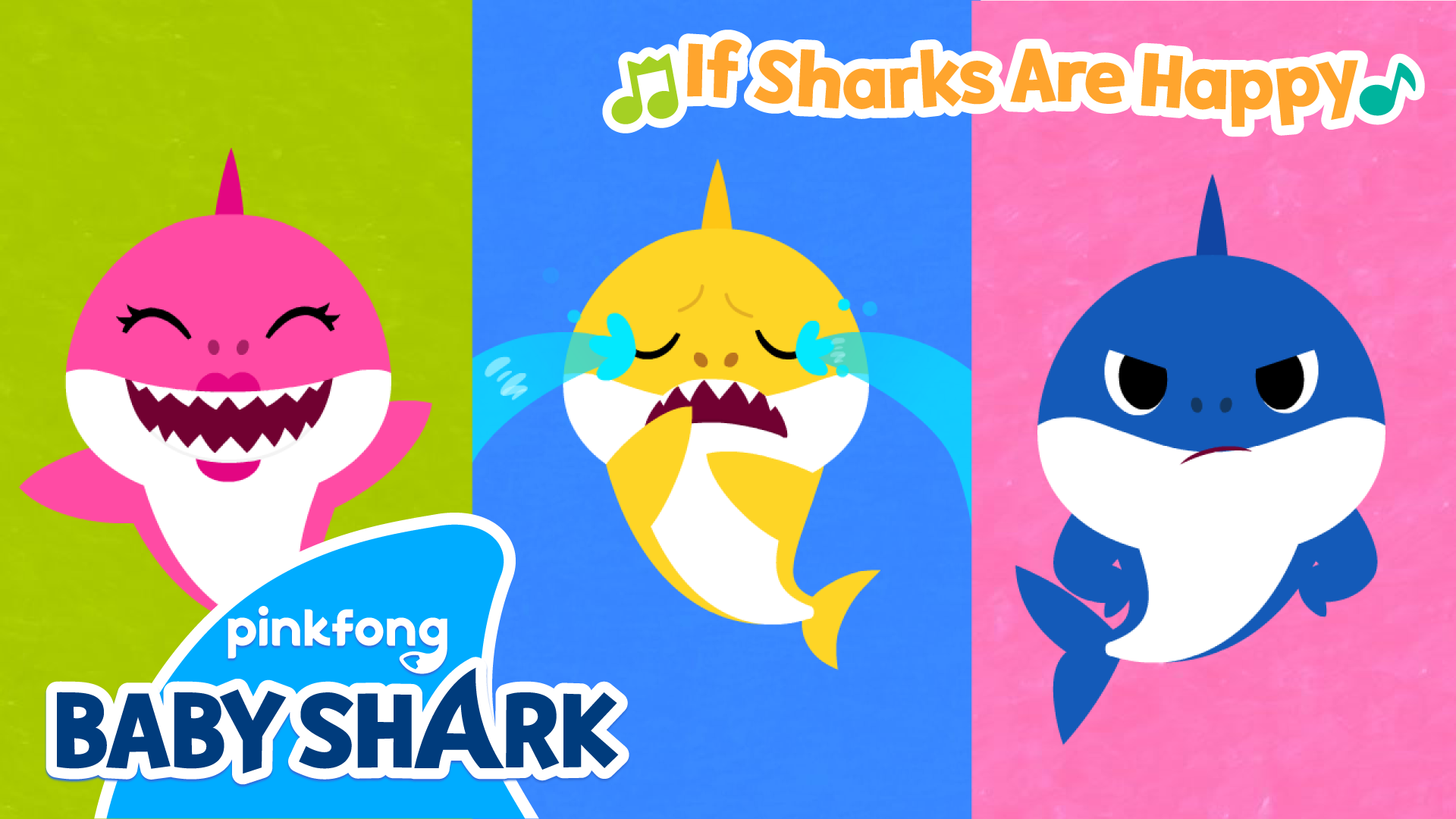 Pinkfong! If Sharks Are Happy