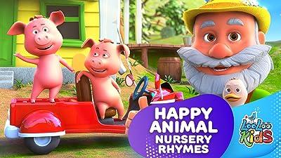 Happy Animals Nursery Rhymes - LooLoo Kids