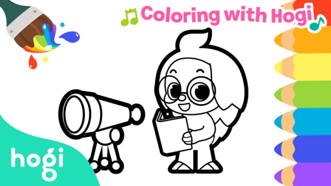 Pinkfong! Coloring with Hogi
