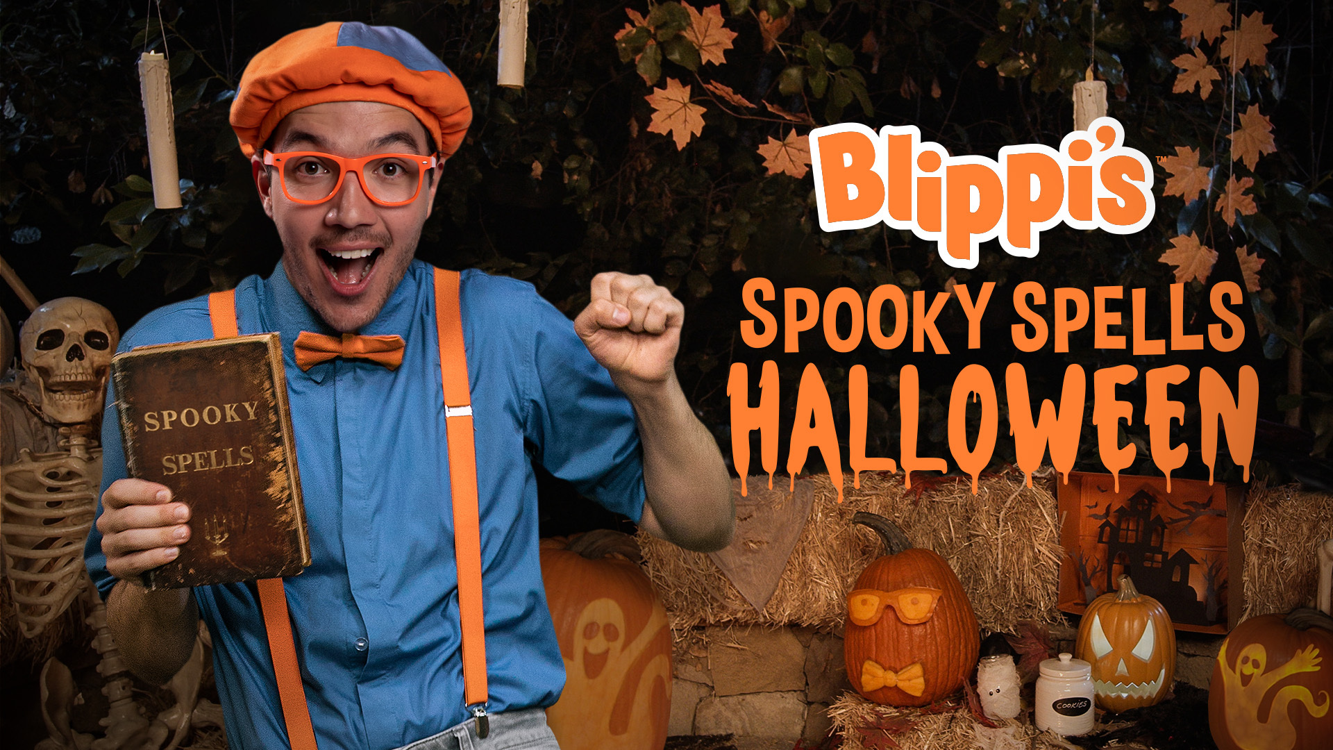 Blippi's Spooky Spells Halloween