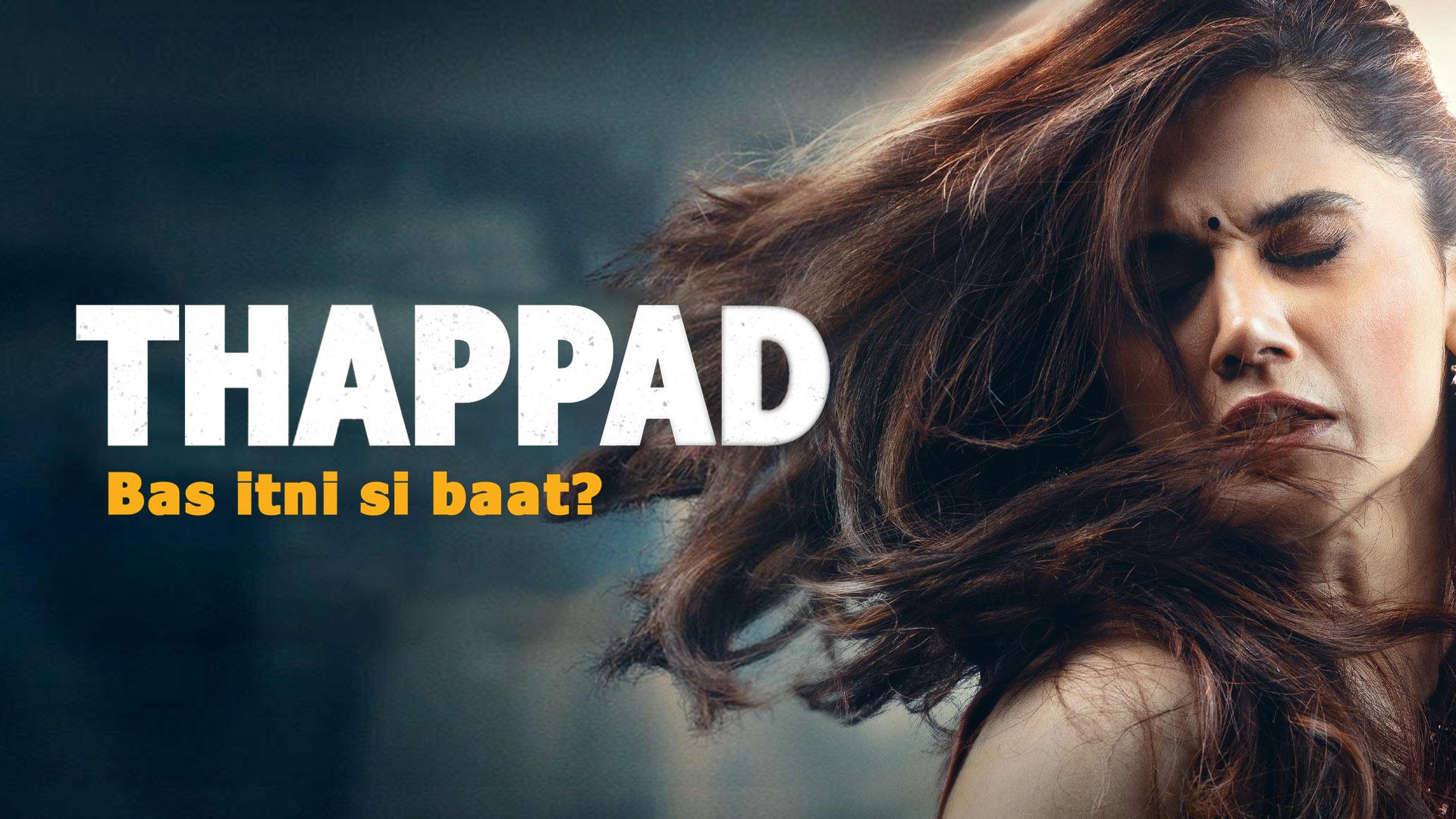Thappad (4K UHD)