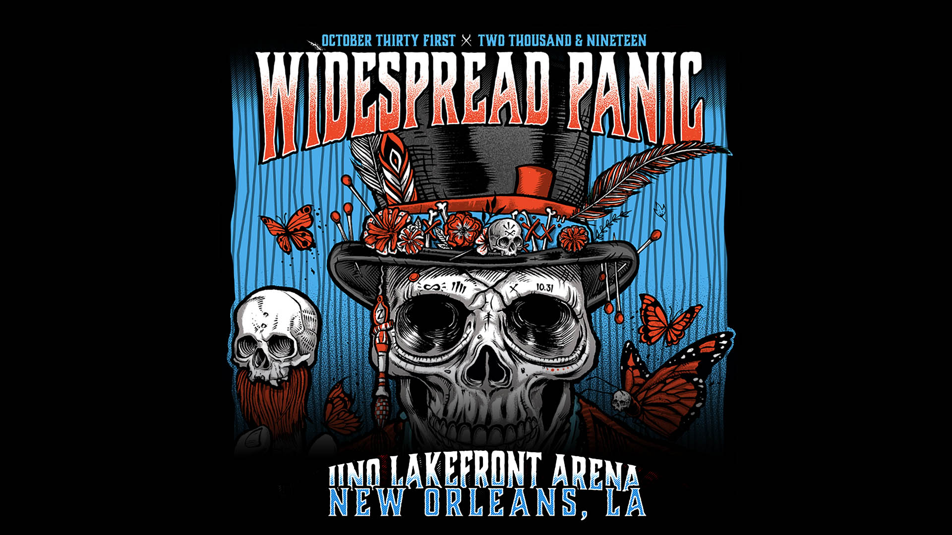 Widespread Panic Live in New Orleans 10/31/2019