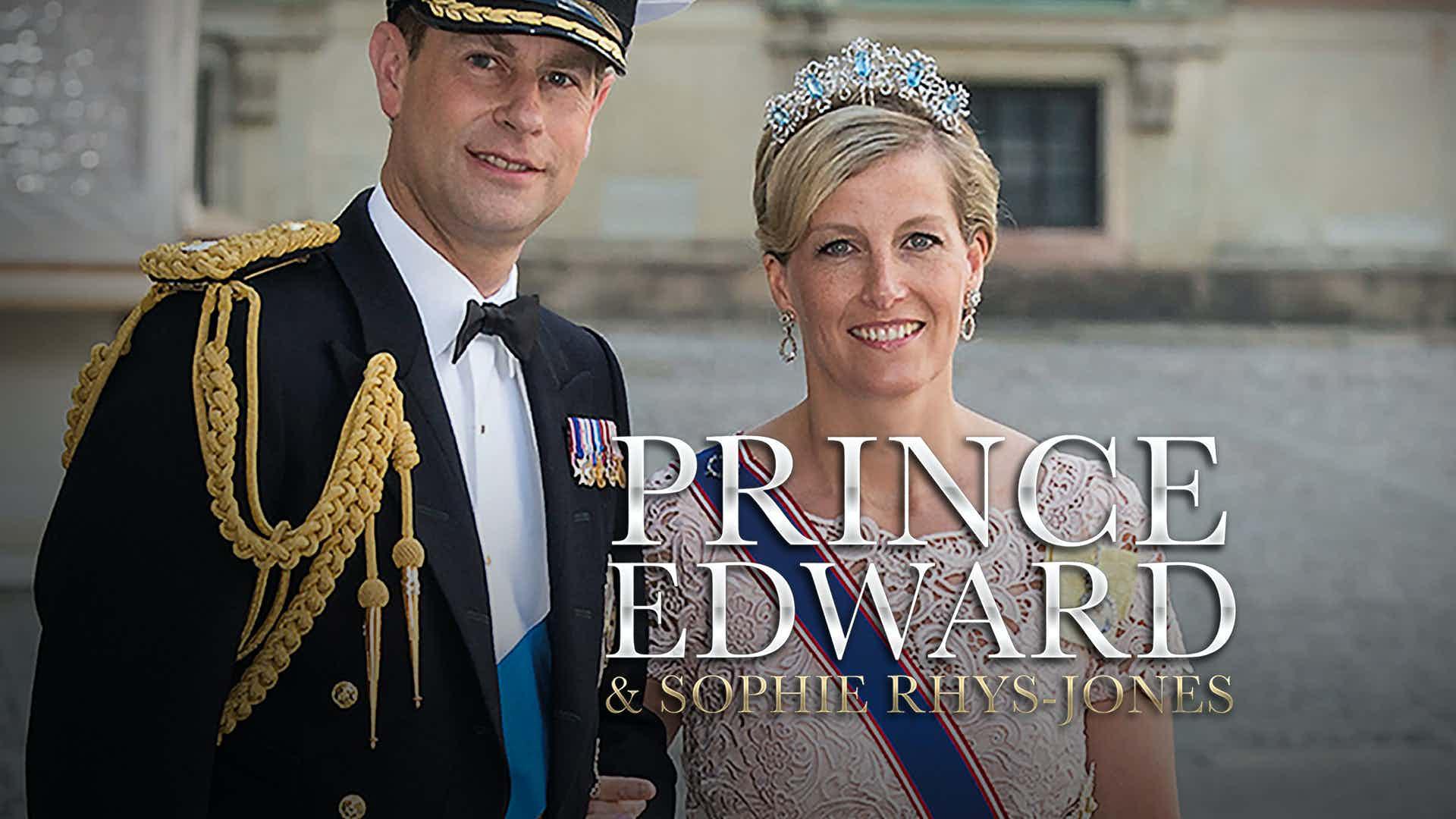 Prince Edward and Sophie Rhys-Jones