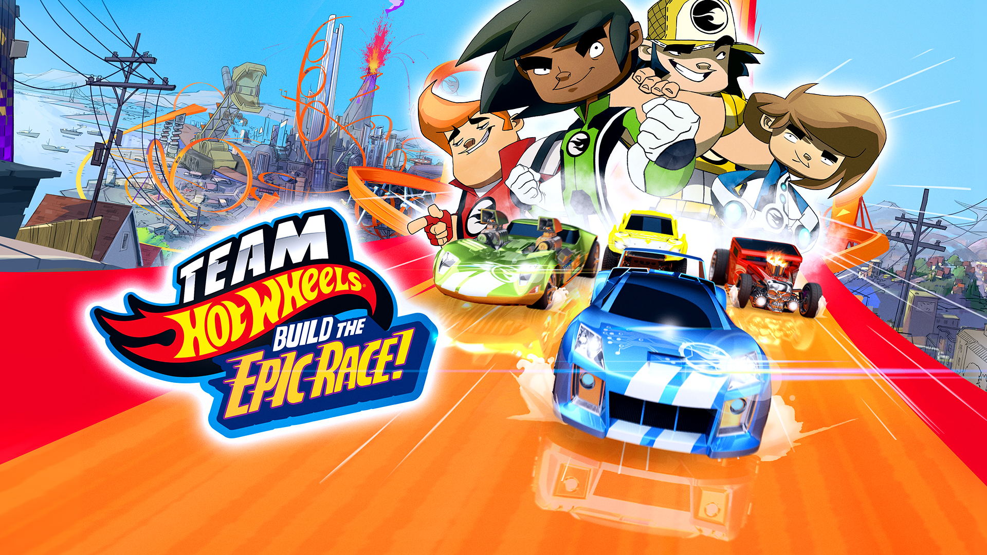 Team Hot Wheels, Build the Epic Race