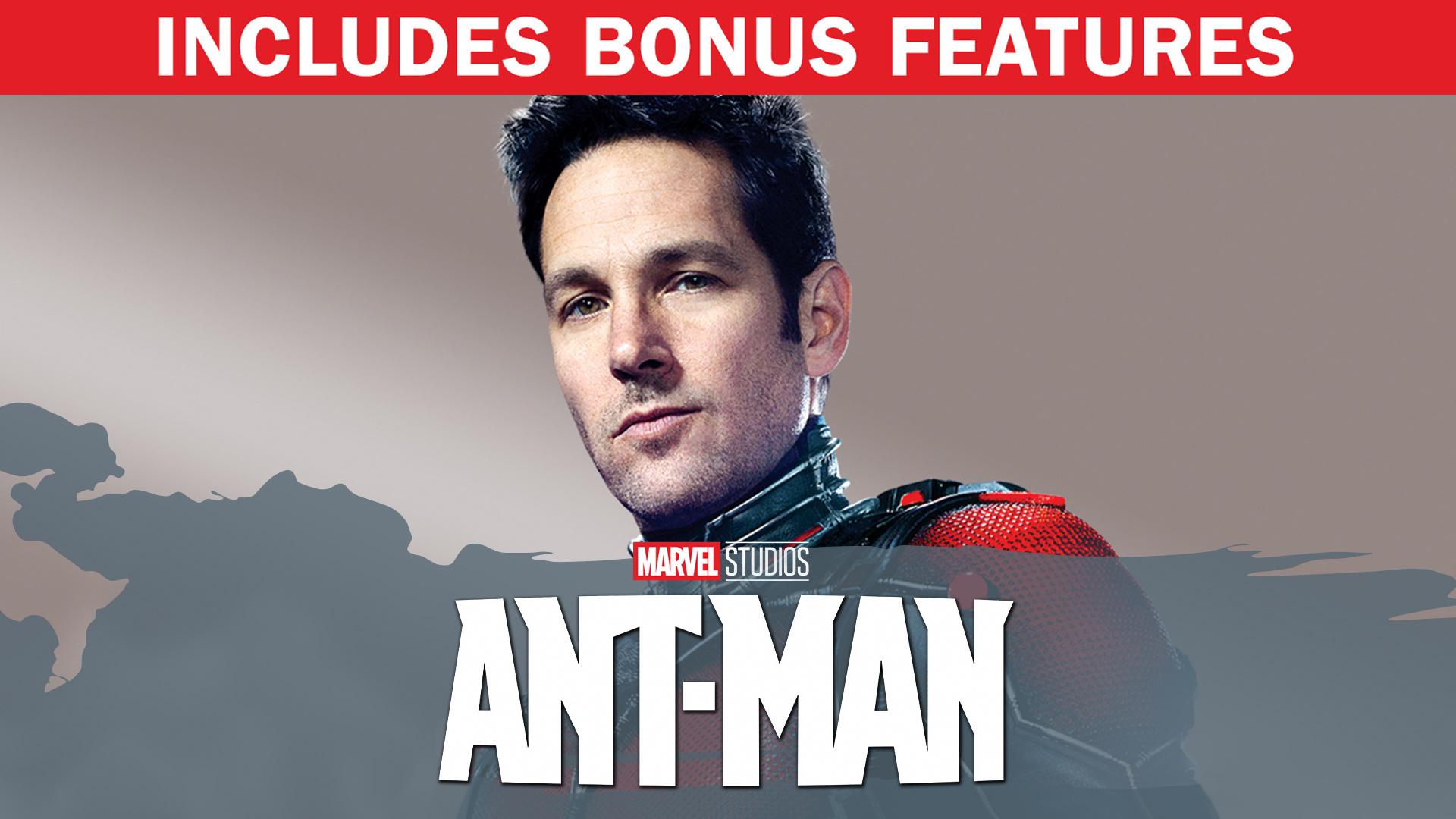 Ant-Man (Plus Bonus Features)