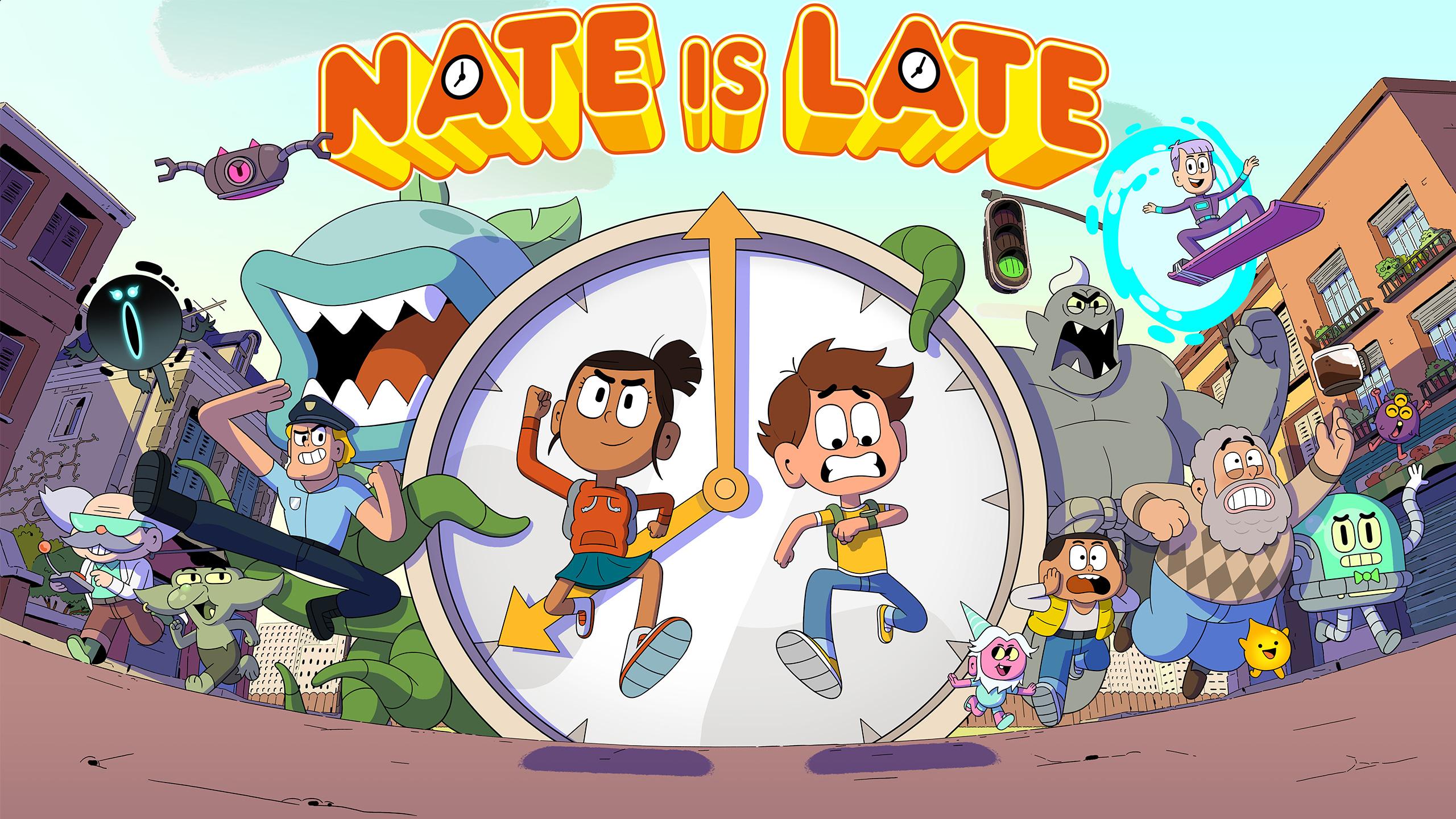 Nate is late - season 1 - Season 1