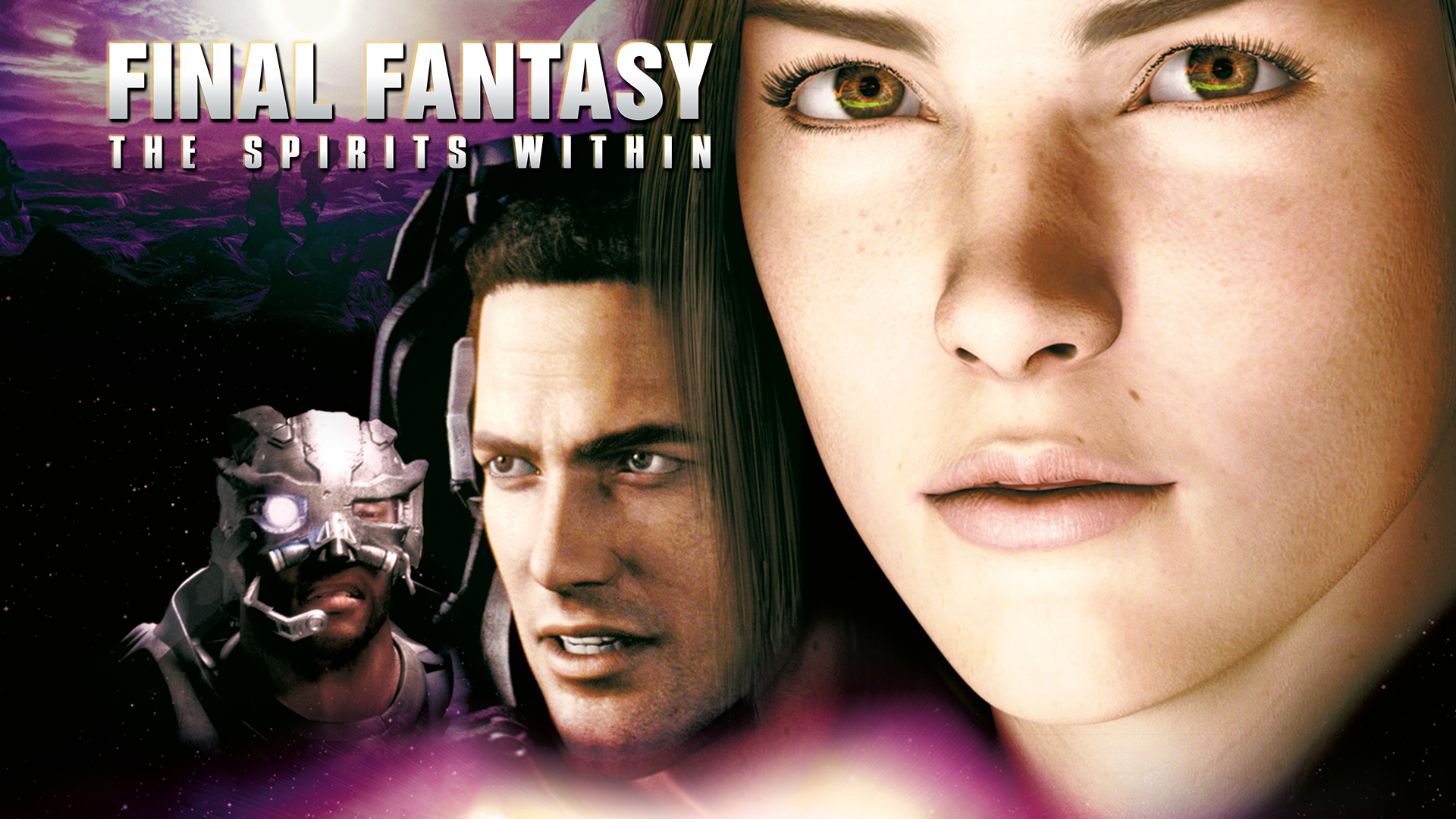 final fantasy the spirits within movie poster
