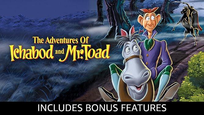 The Adventures of Ichabod and Mr. Toad (Plus Bonus Content)