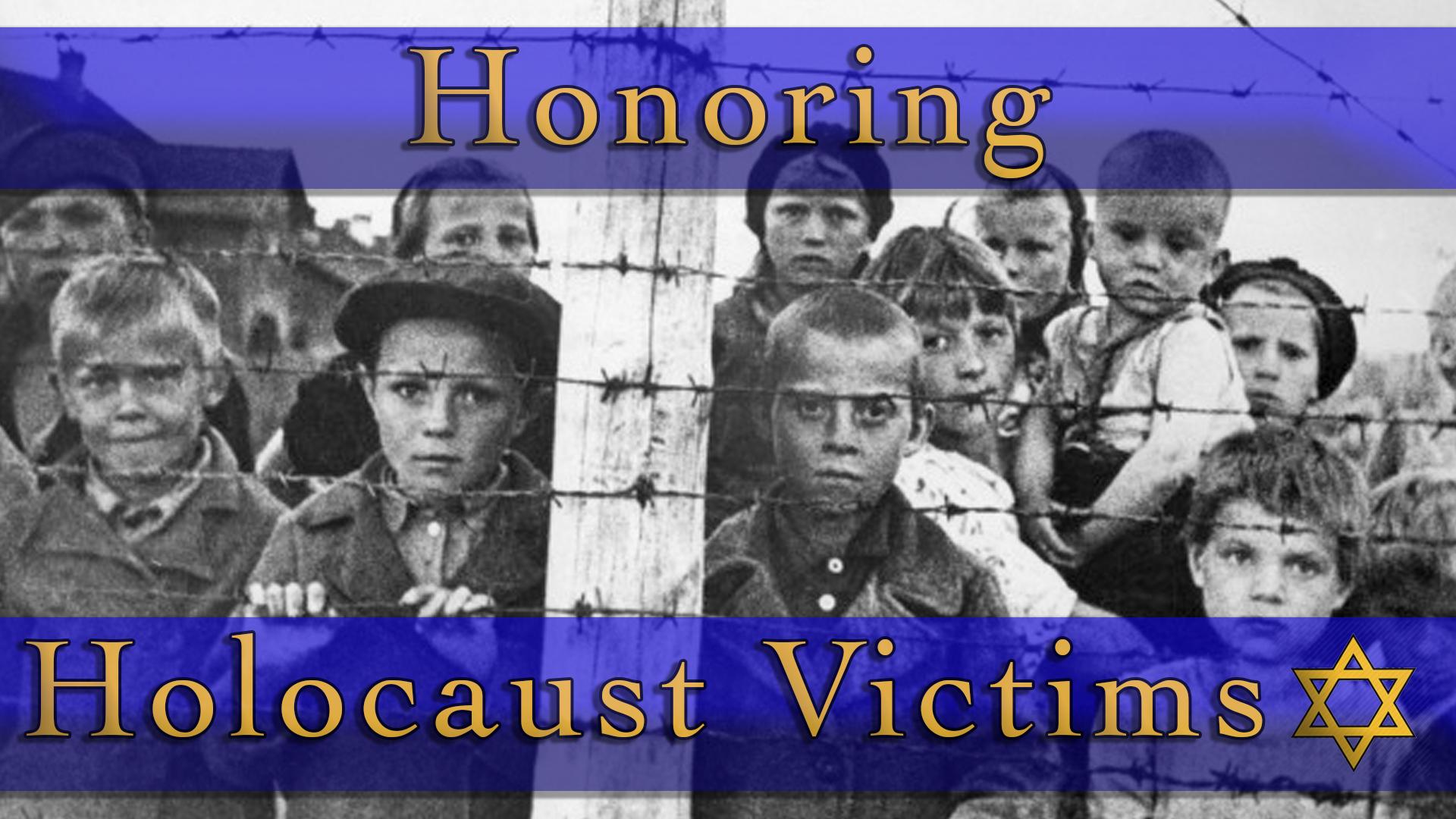 Honoring Holocaust Victims