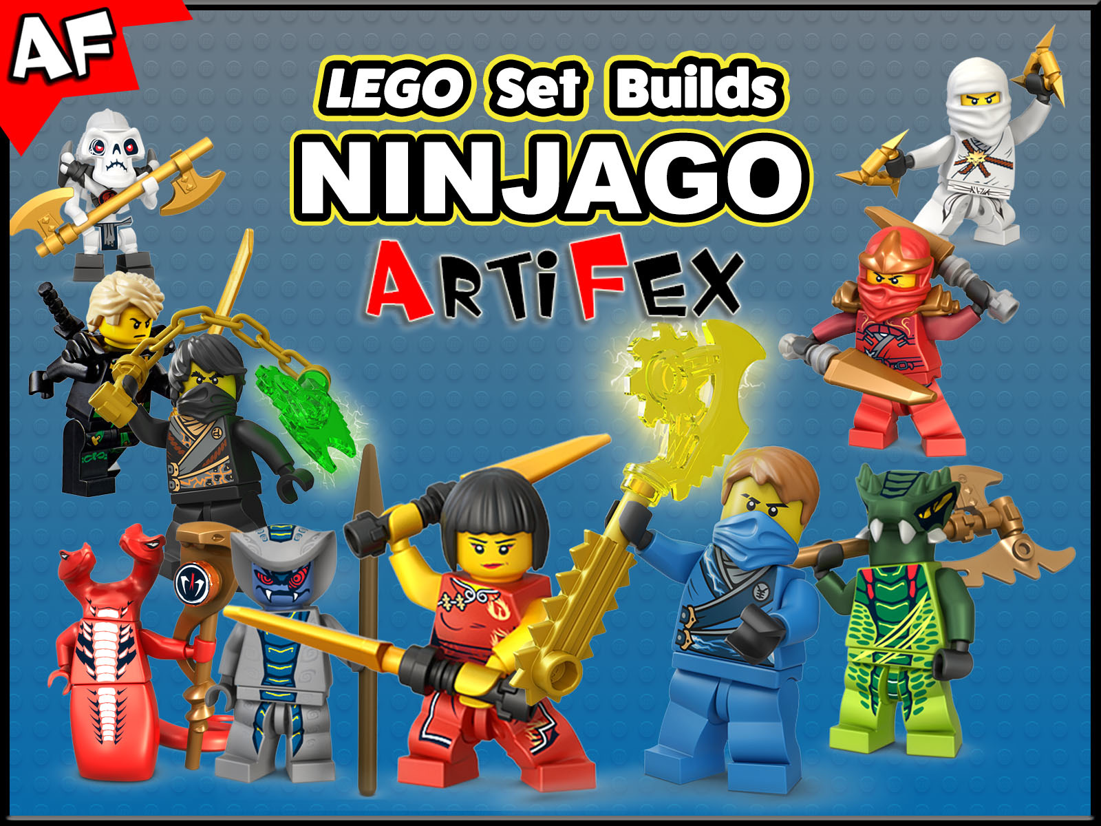 Prime Video: Clip: Lego Set Builds Ninjago - Artifex