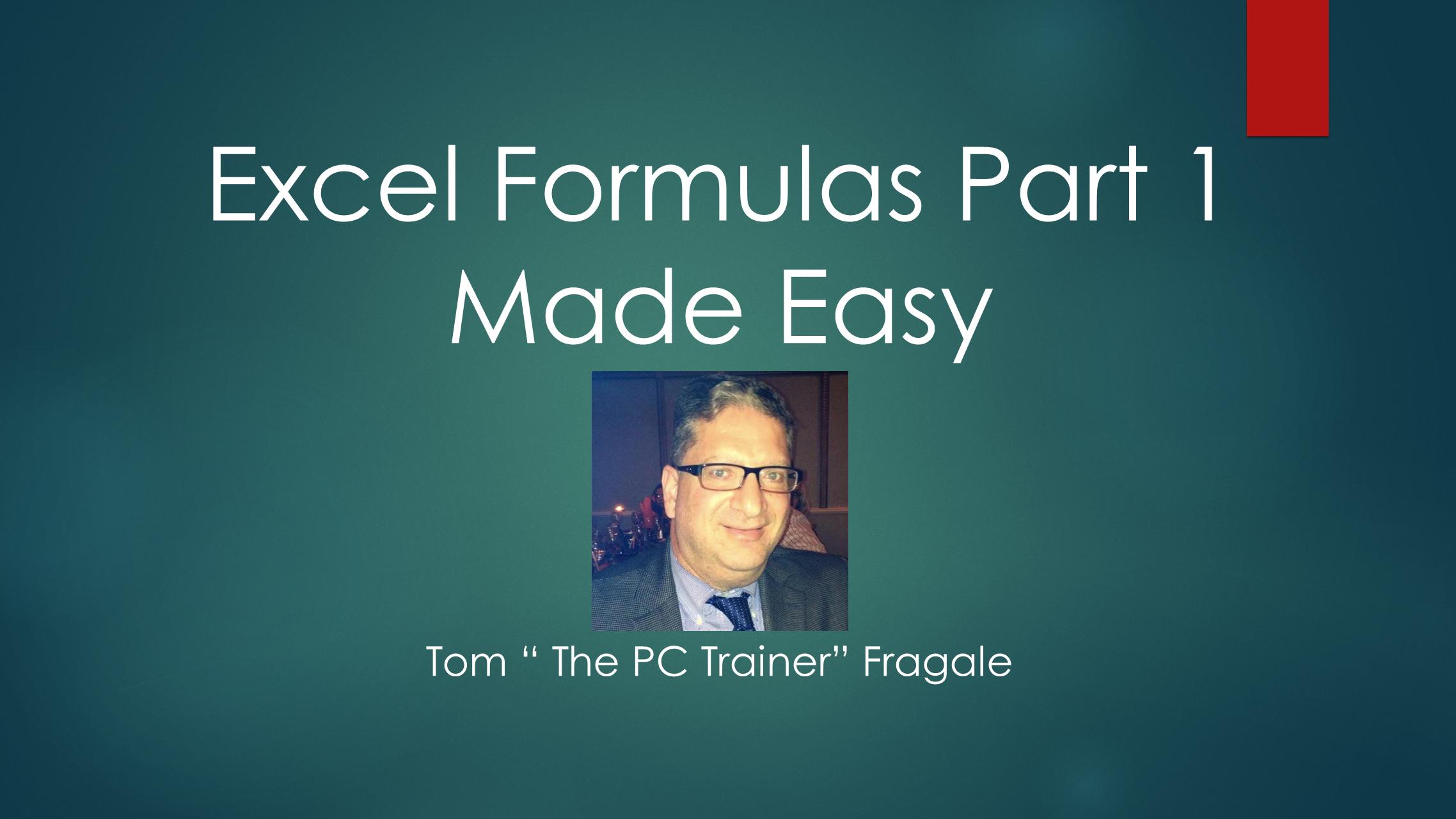 Amazon.de Excel Formulas Part 20 Made Easy [OV] ansehen   Prime Video