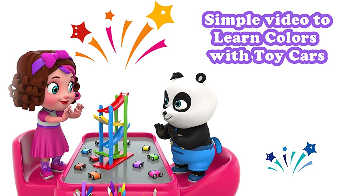 Simple video to Learn Colors with Toy Cars on Amazon Prime Instant Video UK