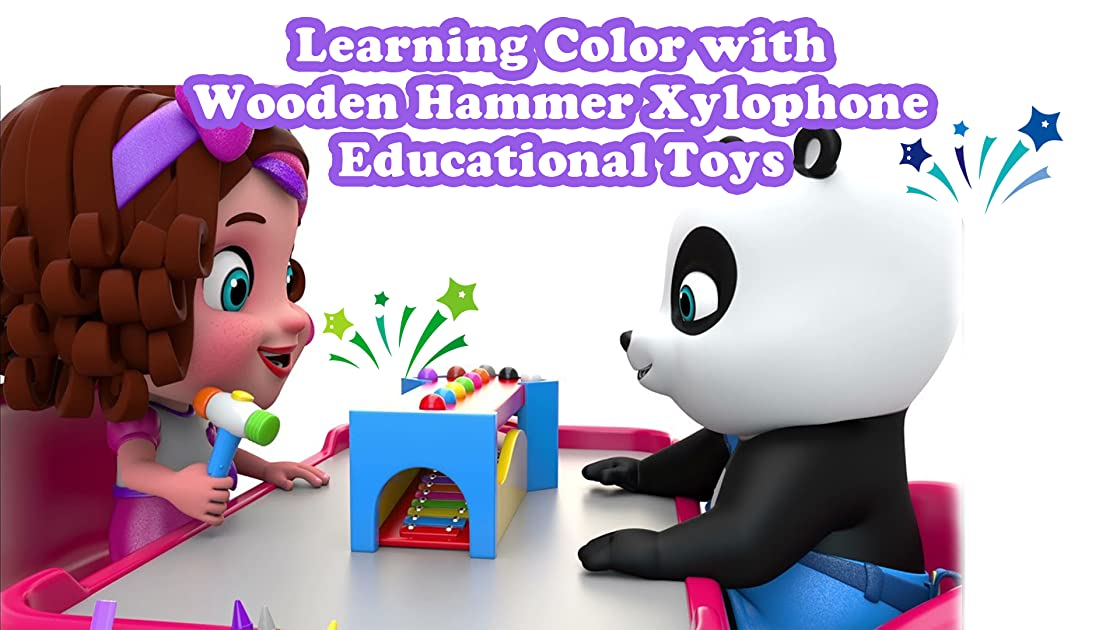 Learning Color with Wooden Hammer Xylophone Educational Toys on Amazon Prime Instant Video UK