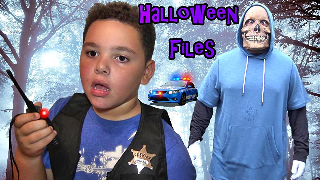 Cop Kids Halloween Adventure Files