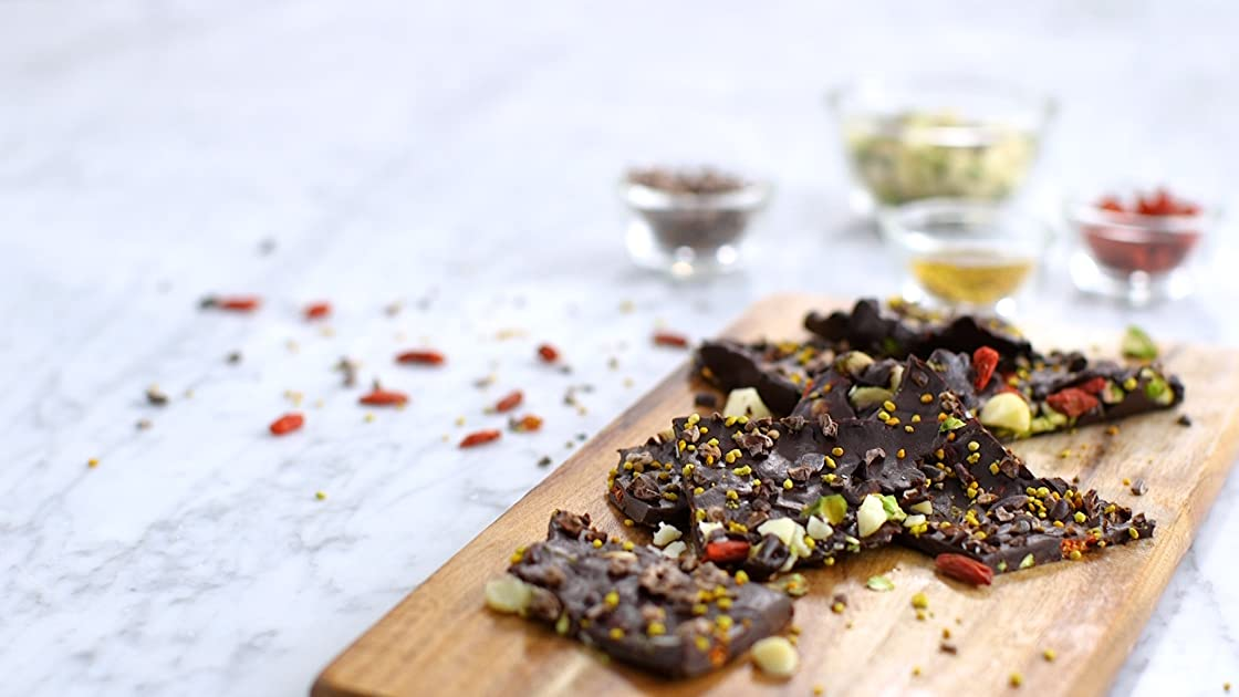Clip: Aphrodisiac Boost Nutty Dark Chocolate Bark