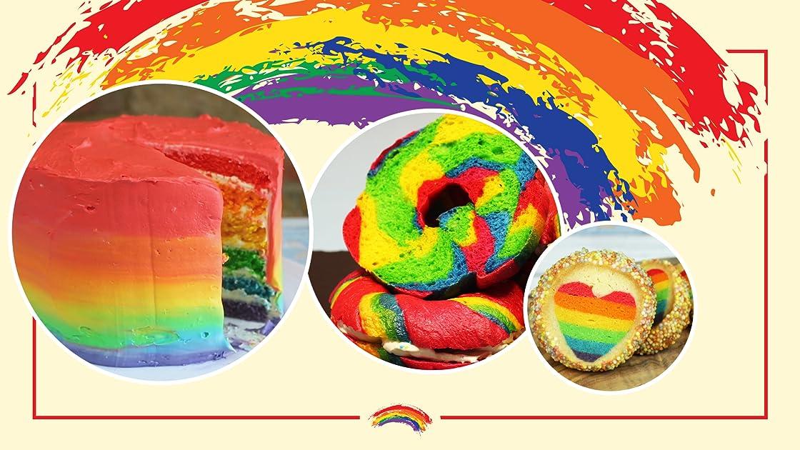 Colorful Rainbow Desserts
