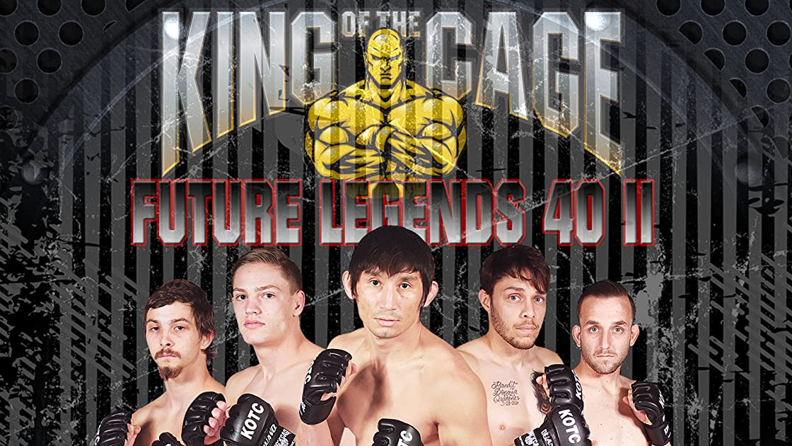 King of the Cage Future Legends 40 Part II