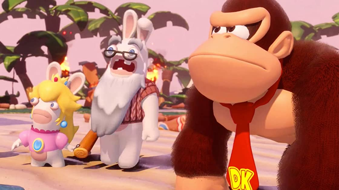 Clip: Mario + Rabbids Kingdom Battle Donkey Kong Adventure Gameplay - Zebra Gamer - Season 1