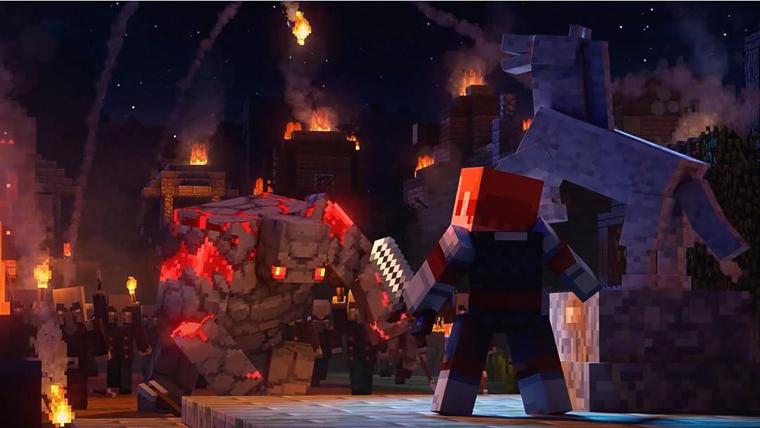 Clip: Minecraft Dungeons Gameplay - Zebra Gamer - Season 1