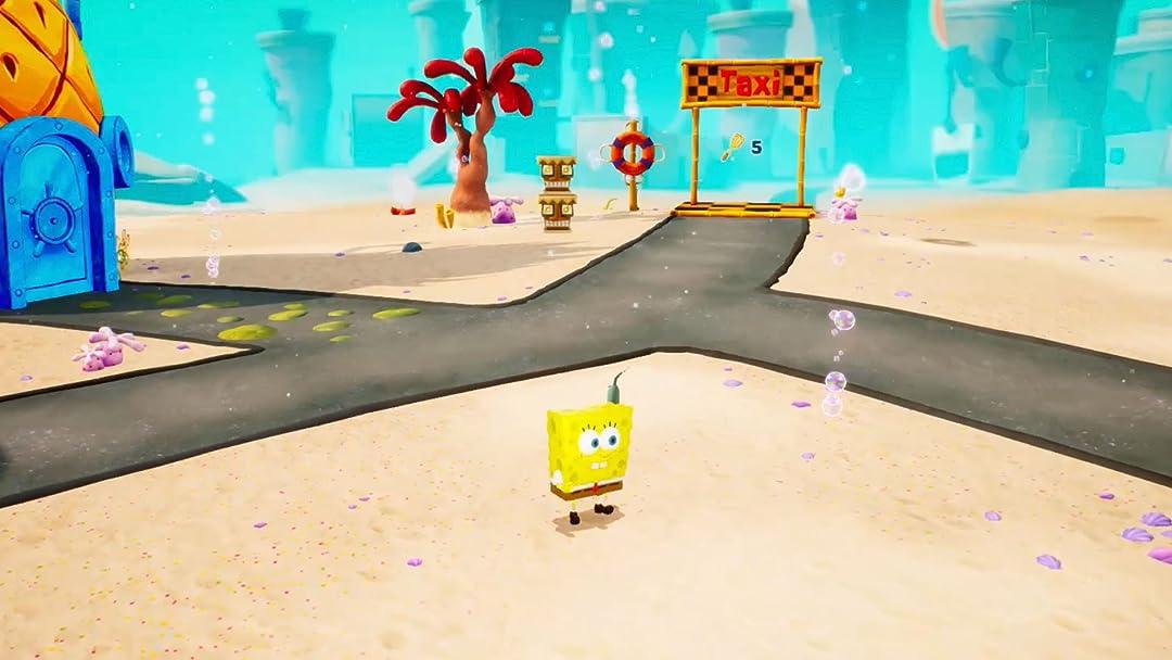 Clip: SpongeBob SquarePants Battle for Bikini Bottom Rehydrated Gameplay - Zebra Gamer - Season 1