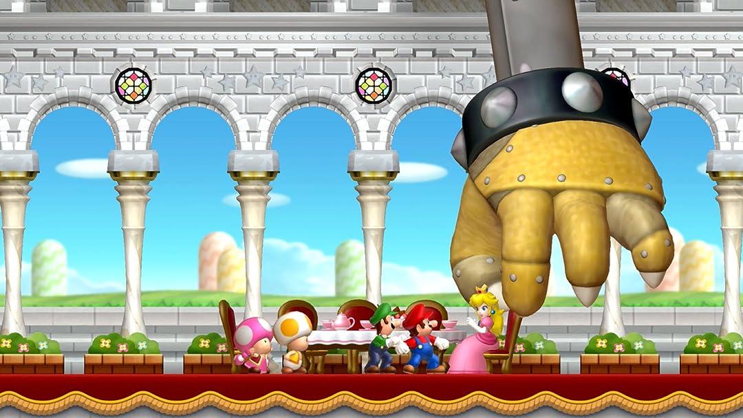 Amazon Co Uk Watch Clip New Super Mario Bros U Deluxe Gameplay Zebra Gamer Prime Video