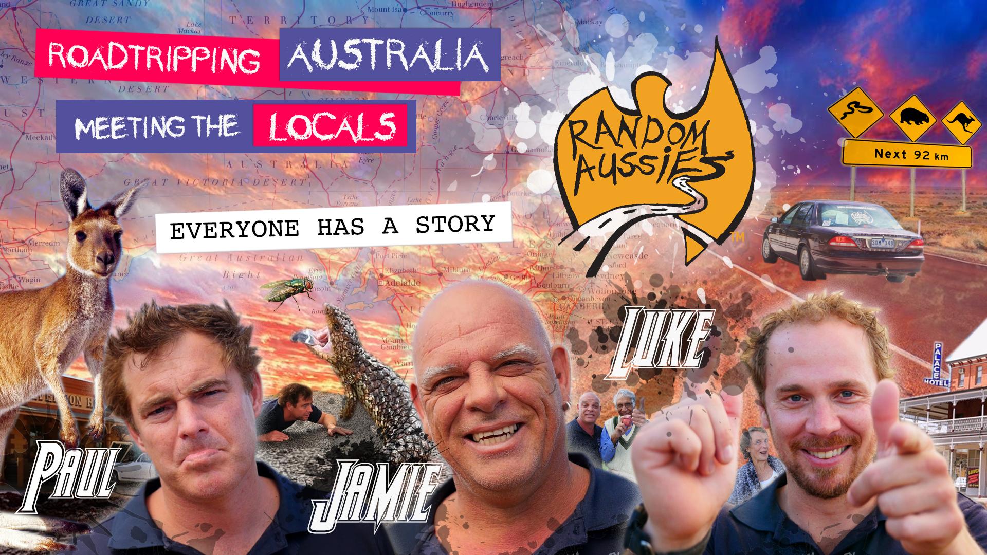 Random Aussies on Amazon Prime Video UK