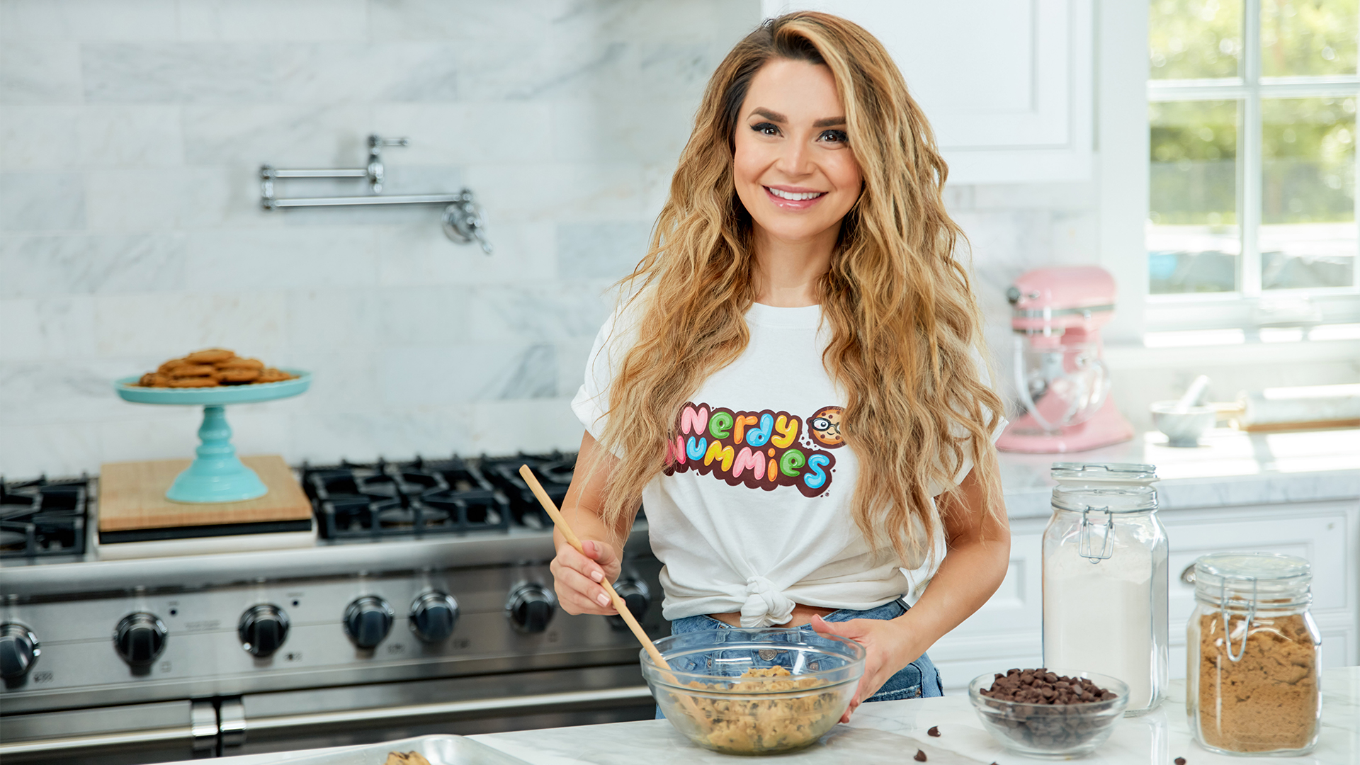 Rosanna Pansino - Nerdy Nummies, Cooking, and DIY!