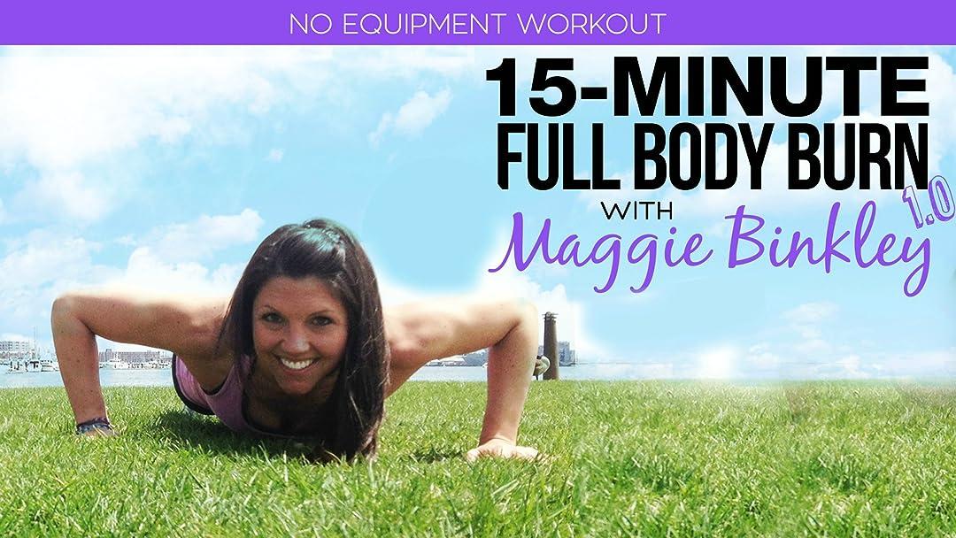 15-Minute Full Body Burn 1.0 Workout on Amazon Prime Video UK