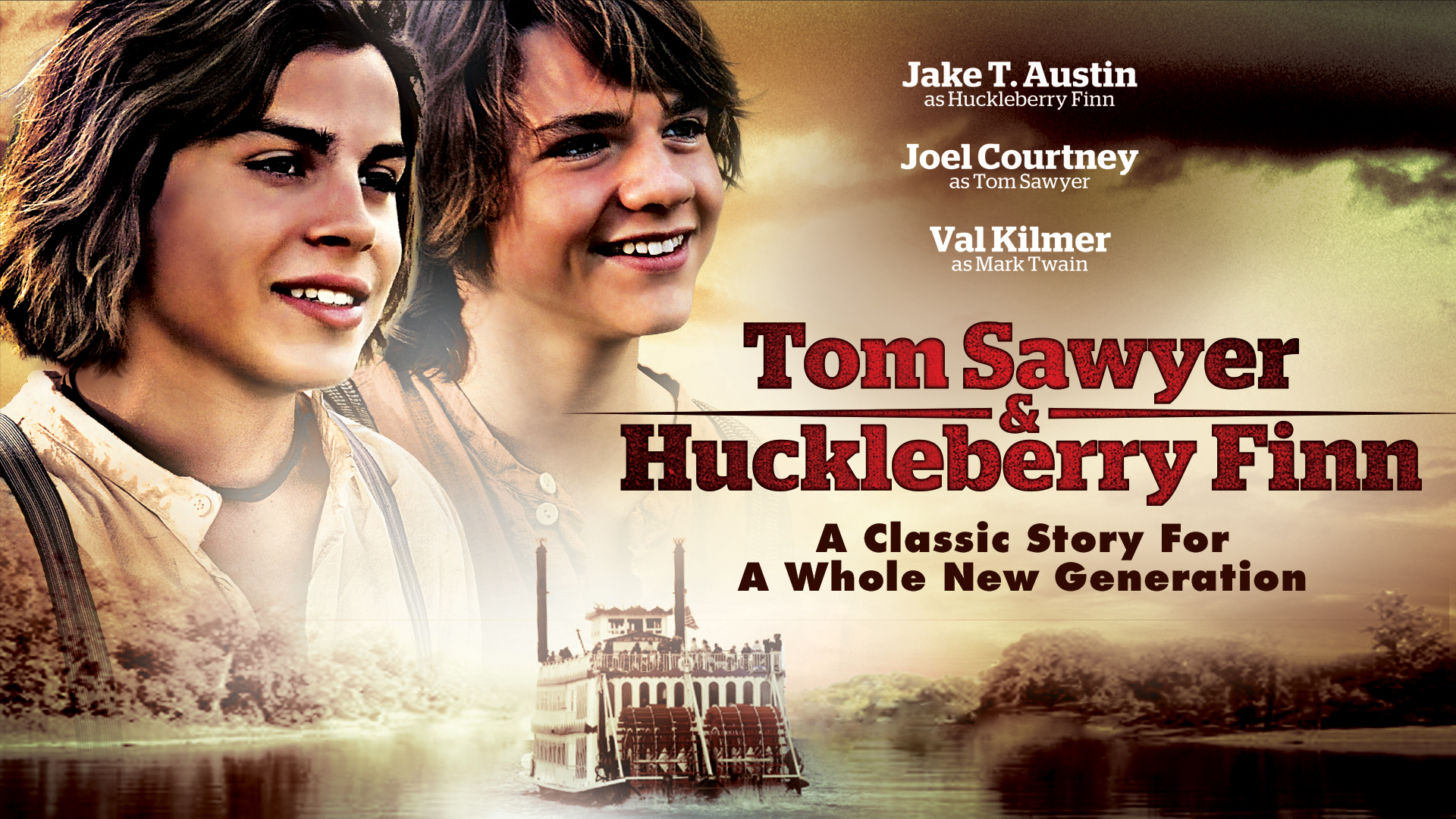 Tom Sawyer and Huckleberry Finn on Amazon Prime Video UK