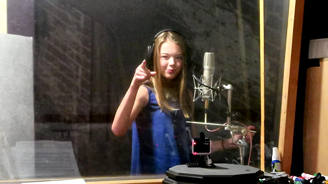 Recording My New Song - Whitney Bjerken in the Studio