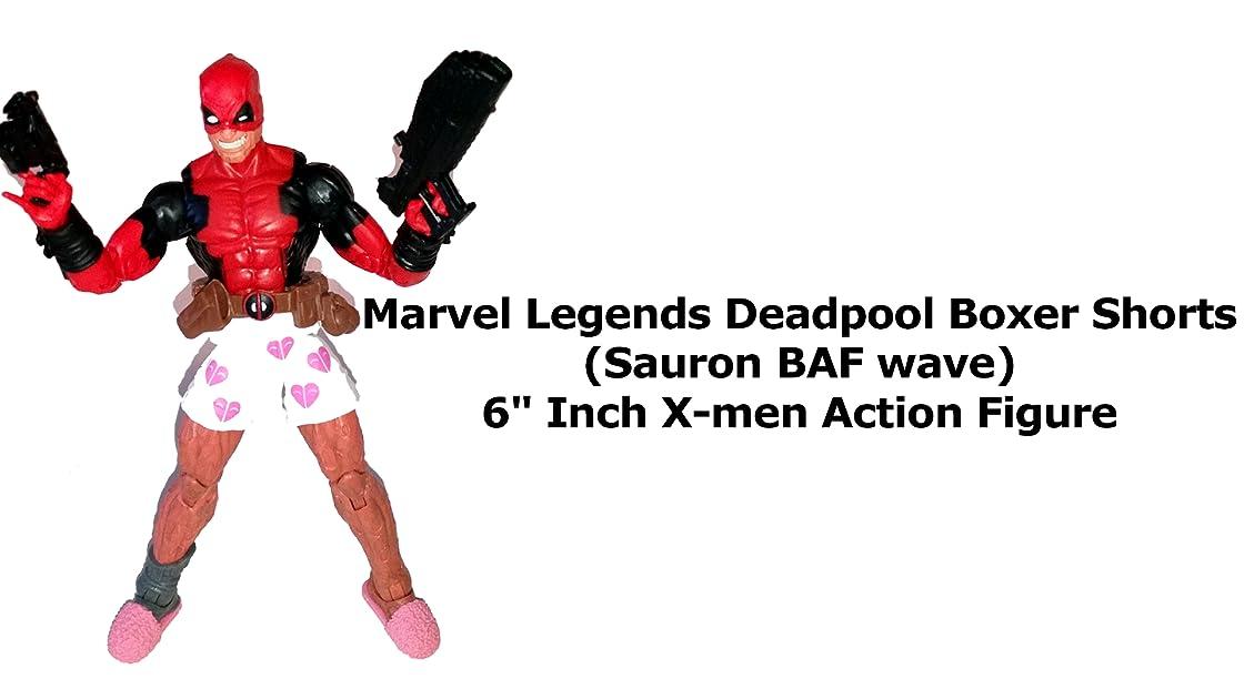 Review: Marvel Legends Deadpool Boxer Shorts (Sauron BAF wave) 6