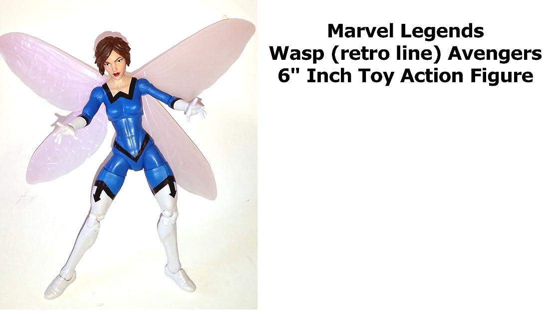 Review: Marvel Legends Wasp (retro line) Avengers 6