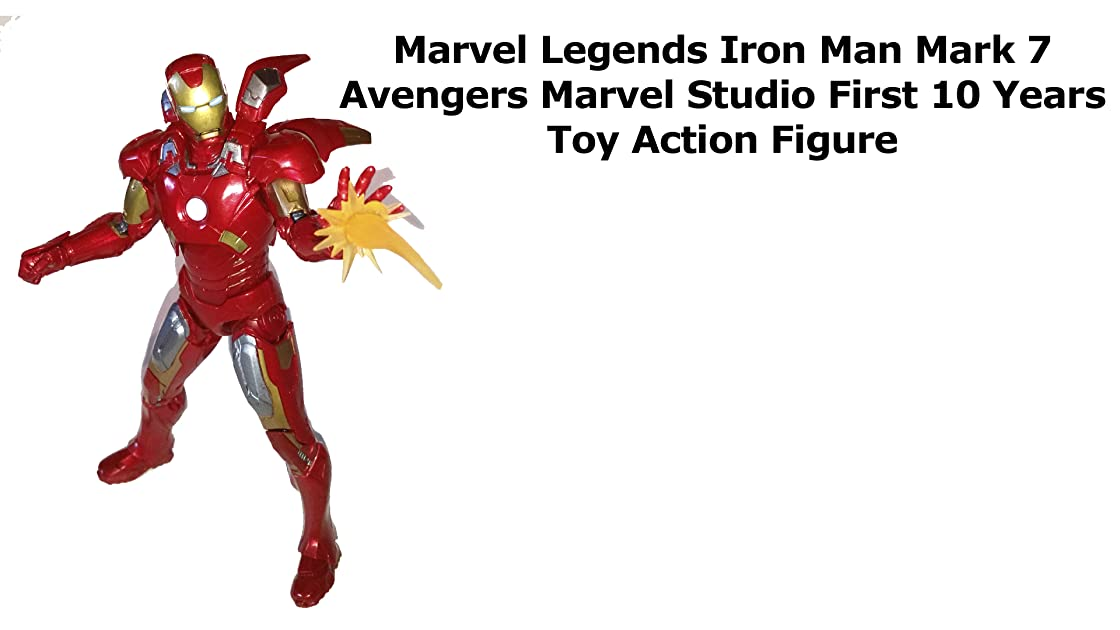 Review: Marvel Legends Iron Man Mark 7 Avengers Marvel Studio First 10 Years Toy Action Figure on Amazon Prime Video UK