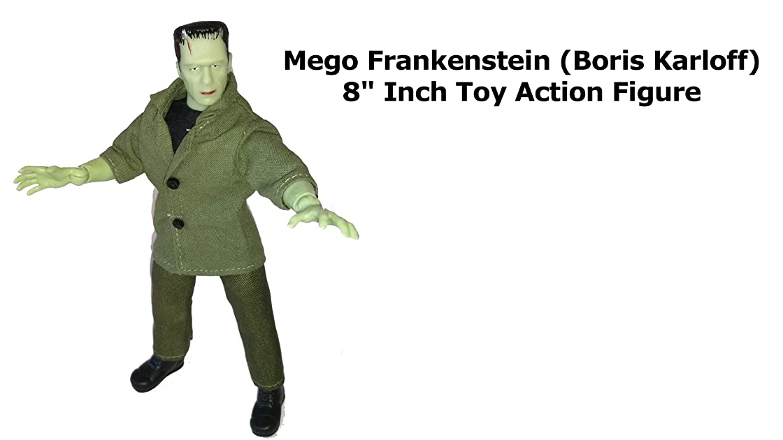 Review: Mego Frankenstein (Boris Karloff) 8