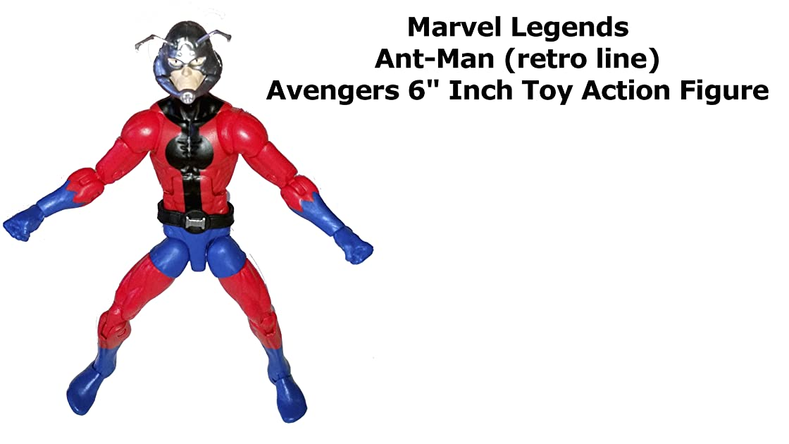 Review: Marvel Legends Ant-Man (retro line) Avengers 6