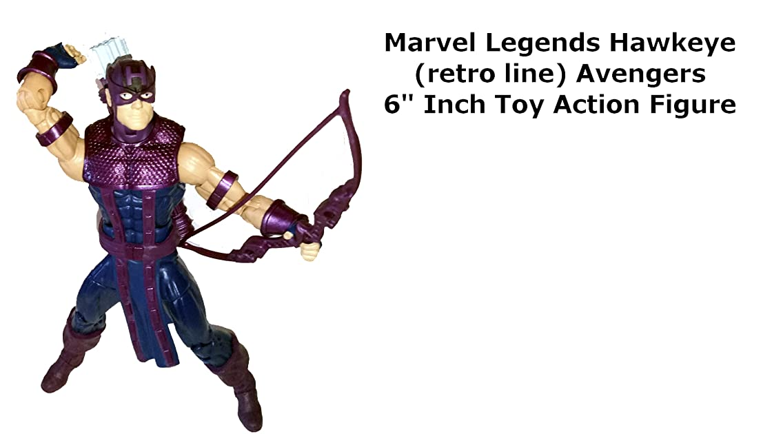 Review: Marvel Legends Hawkeye (retro line) Avengers 6