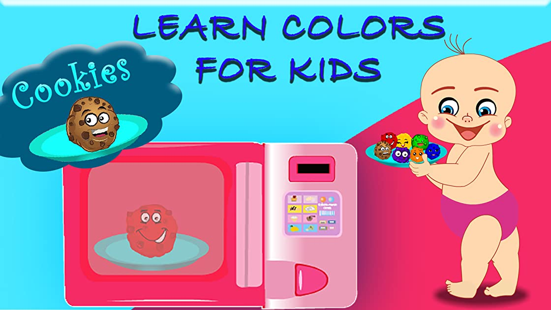 Learn Colors For Kids - Cookies on Amazon Prime Instant Video UK