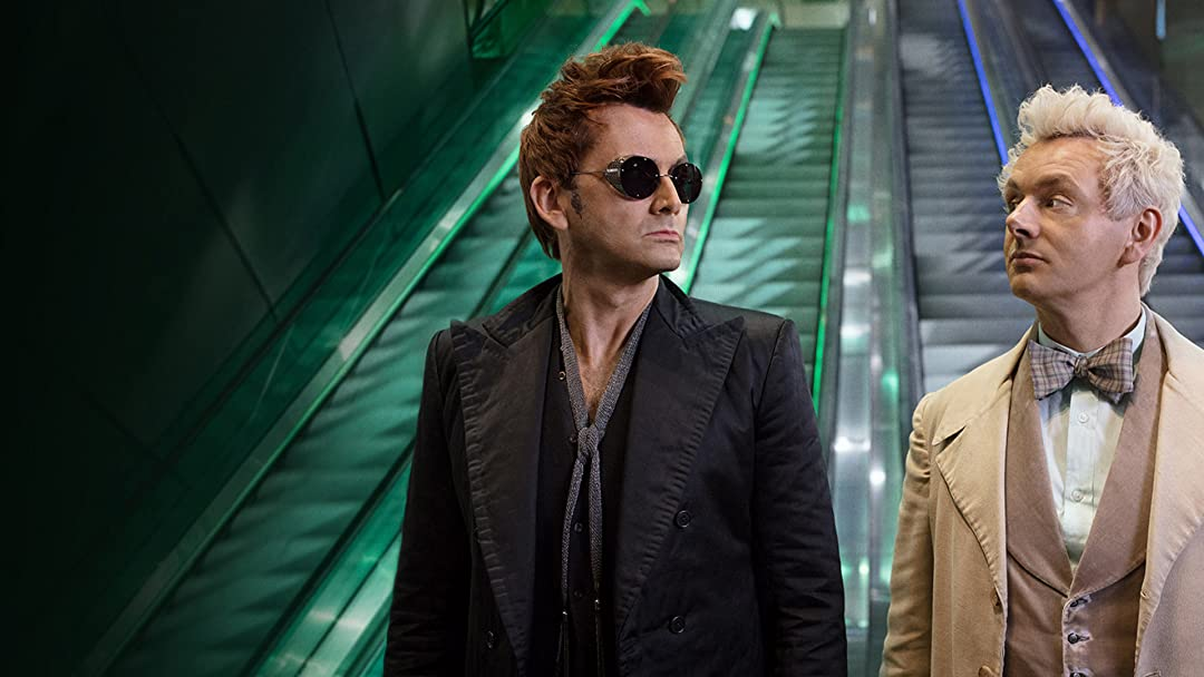 David in Good Omens | Sonnenbrille und Serien