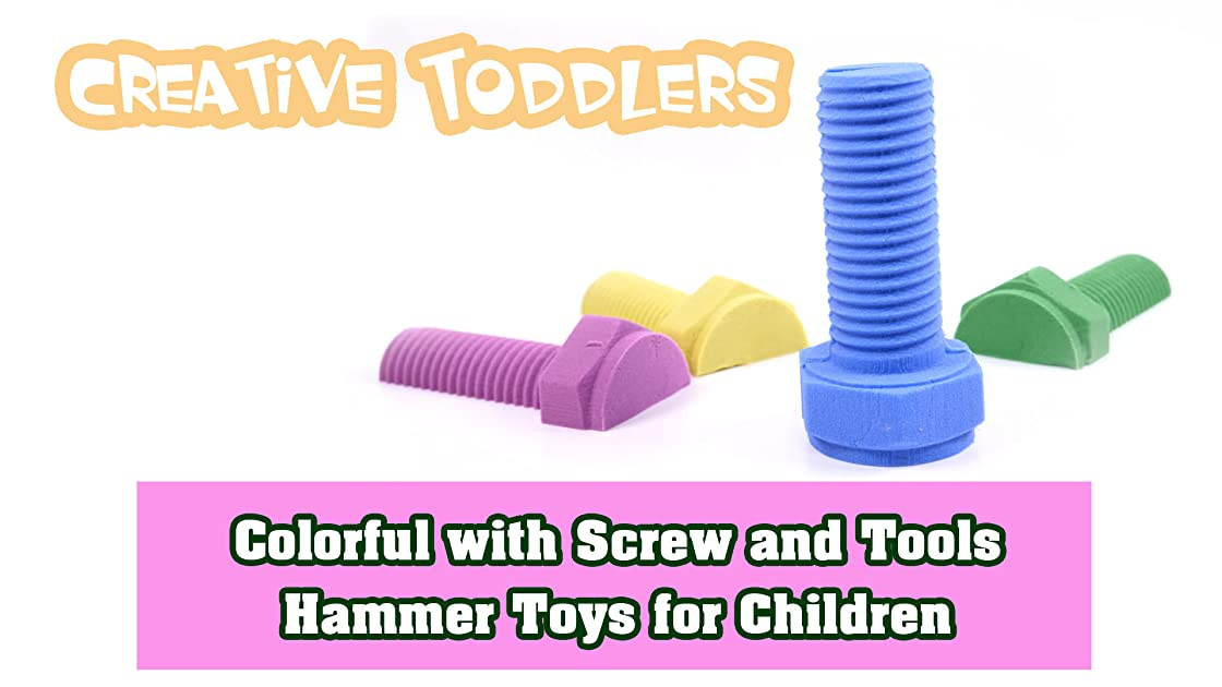 Colorful with Screw and Tools Hammer Toys for Children